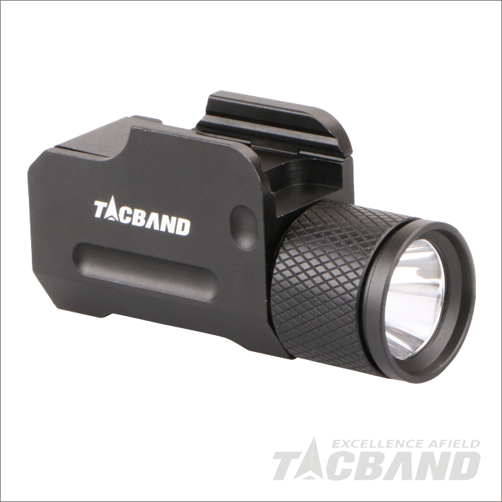 FW03 | Compact Tactical Flashlight for Handgun or Pistol, High Output CREE LED, Aluminum Body