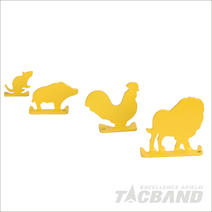 STC07A4  Animal Silhouettes Metal Shooting Target For 22 Air Rifle Slug Gun BB Gun Pellet Gun