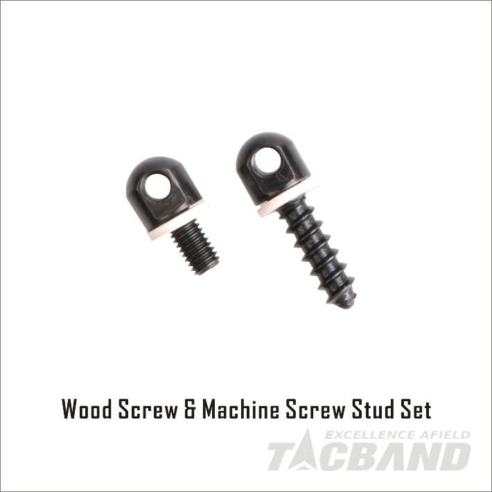 Wood Screw & Machine Screw Stud Set