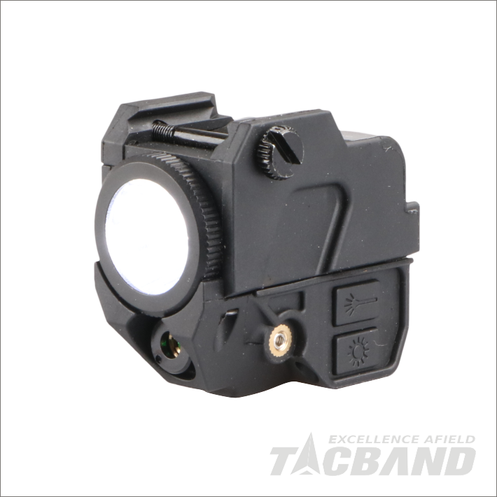 FW17G | Compact Handgun Weapon Led Light & Laser with Magnetic Battery Charger